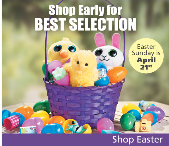 The countdown is on - Shop Easter