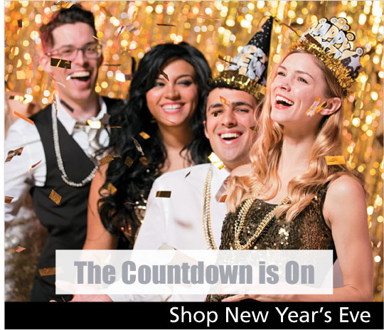 The countdown is on - Shop New Year's Eve