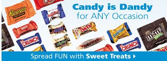 Shop Candy- Candy is Dandy for Any Occasions - Shop Now