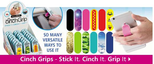 Shop Cinch Grips - Stick It. Chinch It. Grip It