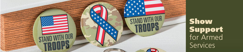 Support Our Armed Services - Shop Military