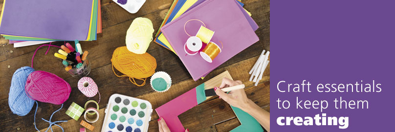 Craft Essentials To Keep Them Creating