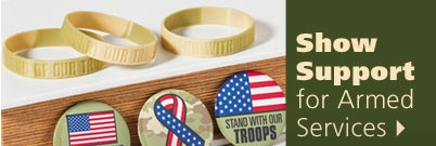 Show Support for Armed Services