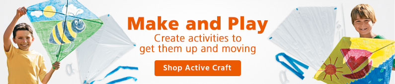 Make and Play Crafts - Shop Active Crafts