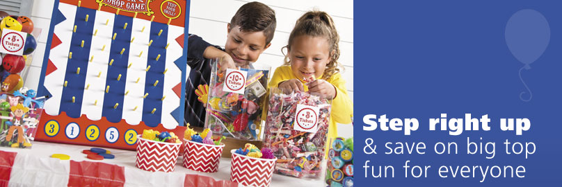 Step Right Up and Save on Big Top Fun for Everyone!