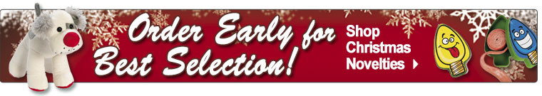 Order Early For Best Selection!