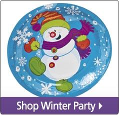 Shop Winter Party