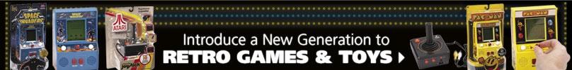 Shop Retro Games & Toys