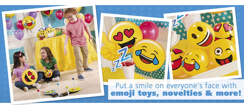 Emoji Toys, Novelties and More!
