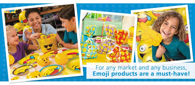 Emoji Toys, Novelties and More!