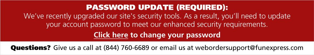 Password Update Required